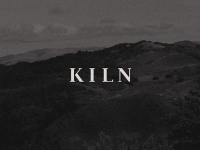 Kiln - Wordmark wordmark visual identity branding logo