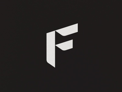 F branding brand logo typography type