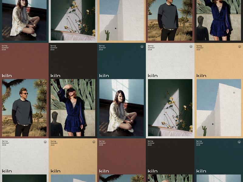 Kiln - Early Explorations color palette palette colors logo branding brand