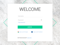 Daily UI Challenge #001 Sign Up Form