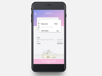 Daily UI 002 Credit Card/Checkout