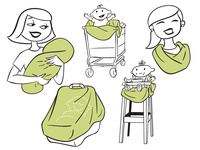 Multi-Use Cover Spot Illustrations