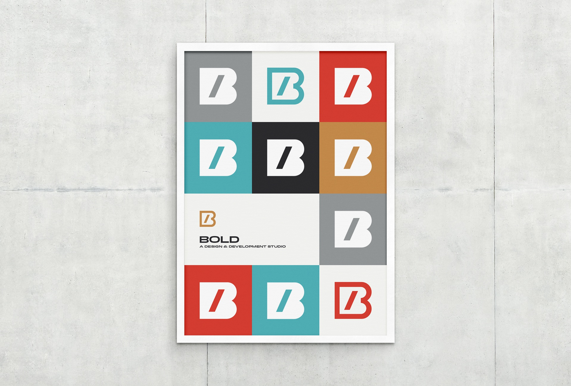 Bold poster large