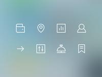iOS7 Glyph Icons