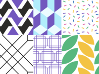 Figma Patterns figma vector ui illustration geometrical fun geometric patterns