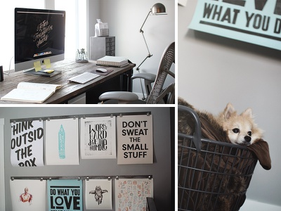 My Office office desk setup