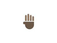 Coffee / Hand Symbol