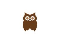 Owl / Mountain Logo