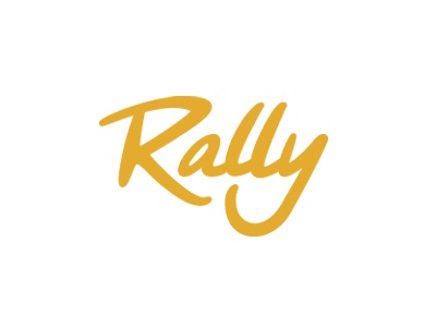 Rally Logo WIP logo custom type logotype