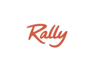 Rally Logo Updated logotype logo type custom