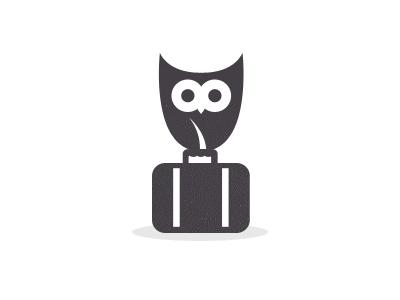 Milewise Logo WIP  mile wise logo owl travel discount suitcase