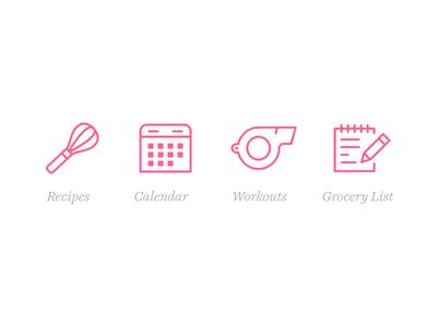 Dashing Dish Tab Icons