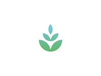 Water / Flower Logo