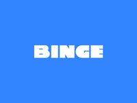 Binge v1 Custom Wordmark