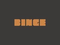 Binge v2 Custom Wordmark