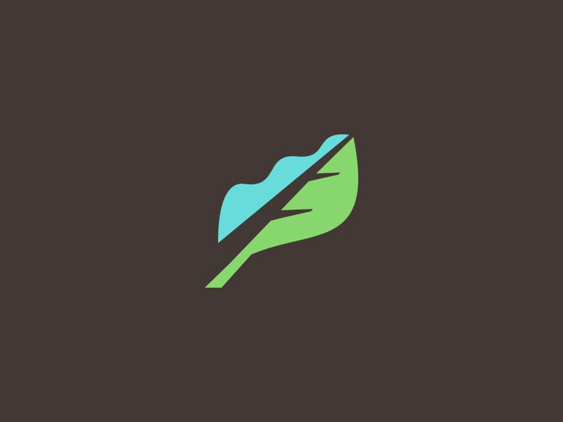 Nature Related Logo charity non profit agriculture tree water leaf logo