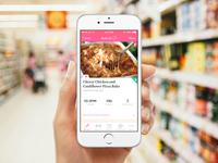 Dashing Dish iPhone App
