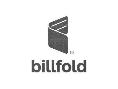 Billfold Logo logo bill fold