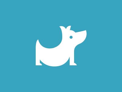 Logo for Belly belly dog fat whimsical logo