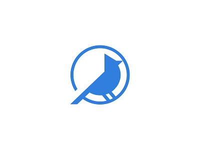 Blue Jay Logo design jay blue logo bird