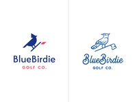 BlueBirdie Logo Option