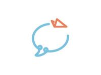 Social Flying Logo Concept