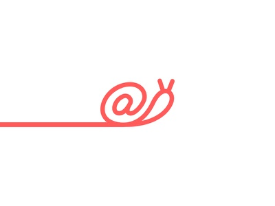 Snail Mail mail mark symbol logo icon email @ snail