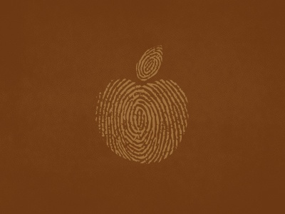 Food Origin Logo logo food apple fingerprint