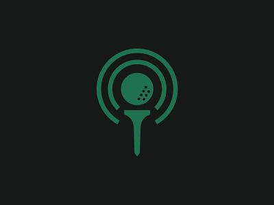 Golf Podcast Icon golf podcast symbol logo icon