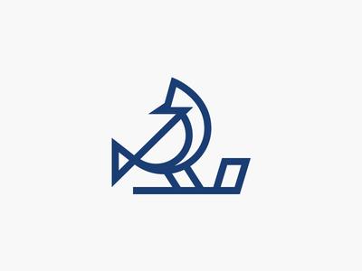 Blue Birdie Alternate logo design accessories putter covers head headcovers golf birdie blue