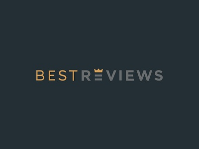 Best Reviews Logo Design reports consumer reviews logotype crown design logo