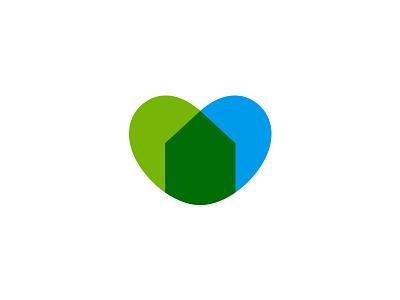 Filterjoy logo design combine love house filter home