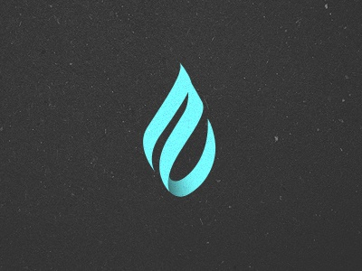 ZAO Logo logo water droplet