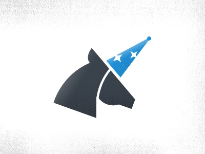 Nothing Magical Logo nothing magical logo fake faux unicorn party hat