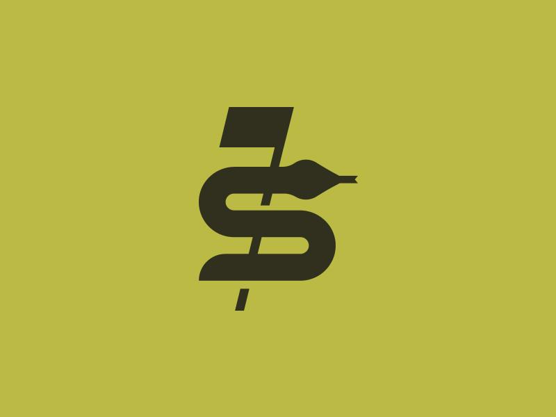 StableFOREd Golf Tournament snake logo golf flag snake