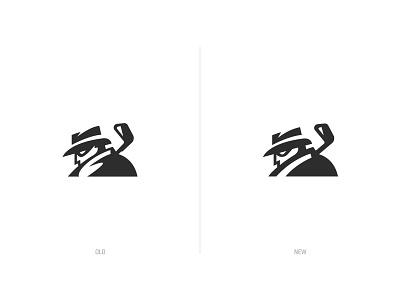 MyGolfSpy Logo Update logo design clean sharp club monochrome secret spy revision updated golf logo