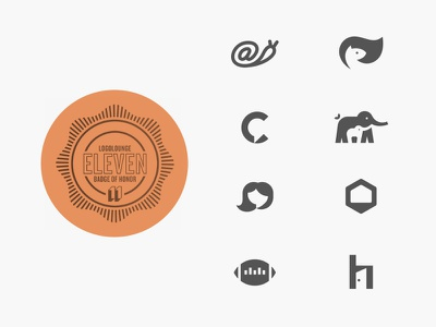 Logolounge 11 Winners design logolounge geometric home football hive house hair moments moment elephant chat squirrell snail logodesign award logo