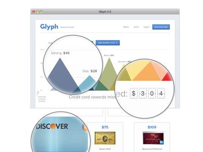 Glyph 2.0 Web Design