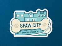 SPAW CITY logo