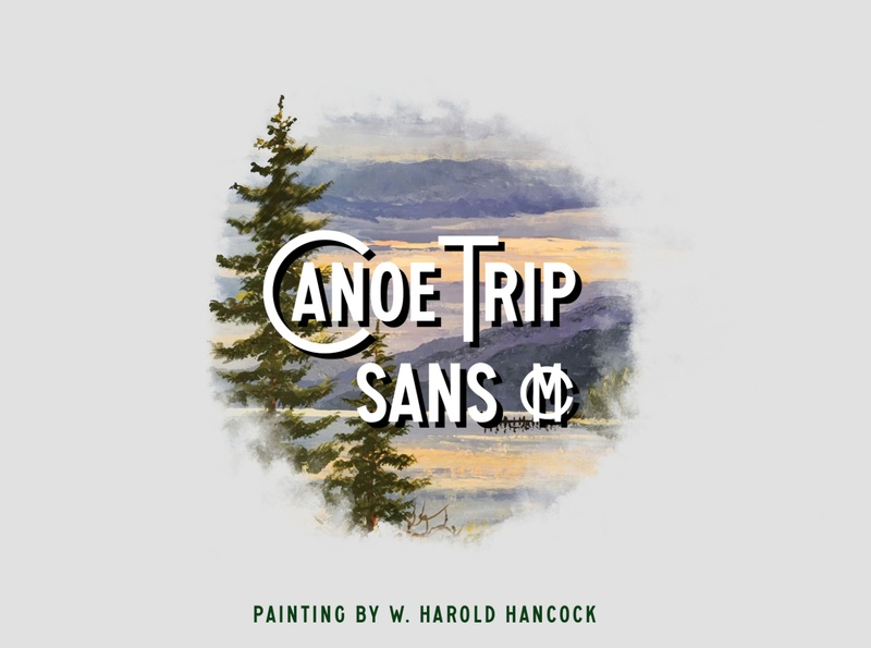 Canoe Trip Sans MC old fashioned old new hot popular display retro hiking adventure branding outdoors typography logo vintage nature type font design