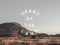 New Font - Heart of the Land
