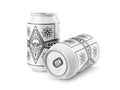 Meta Can new beer meta local packaging design graphic dope
