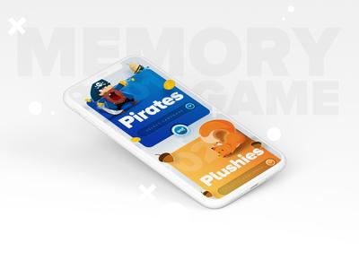 Memory Game select screen