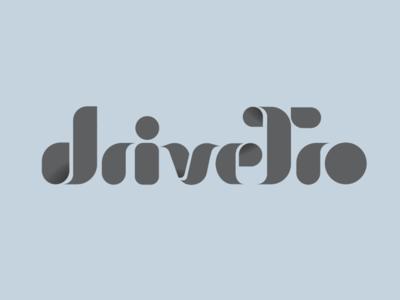 Drivetro Logo luxury lozenge logo modern drivetro