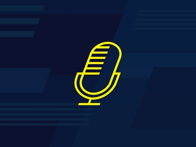Podcast Logomark late night lnsm mic nbc seth meyers mark logo podcast