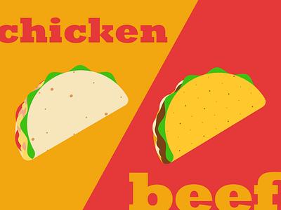 Tacos snl chicken beef tacos