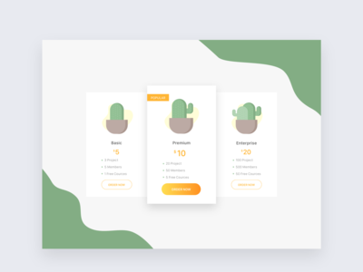 Pricing Page UI