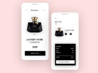 Daily Ui - Shopping Cart