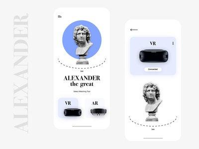 Alexander the great VR Ui