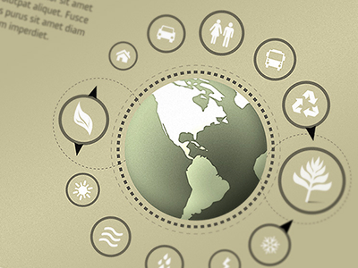 Go Green 2 print web design clean economy environment pollution eco-system eco-friendly ecology eco natural nature energy icon leaf tree food earth planet globe global tool tip location chart map infographics